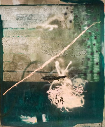 Sebastian Helling, Untitled (Green), 2015