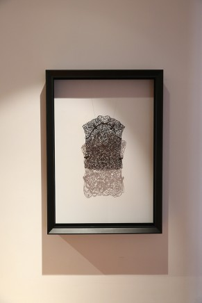 Man Fung-yi 文鳳儀, Weaving Intimacy (Body Lines) No.QQ1, 2013