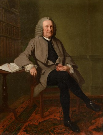 Benjamin Wilson, George Edwards FSA FRS in his study, c.1765