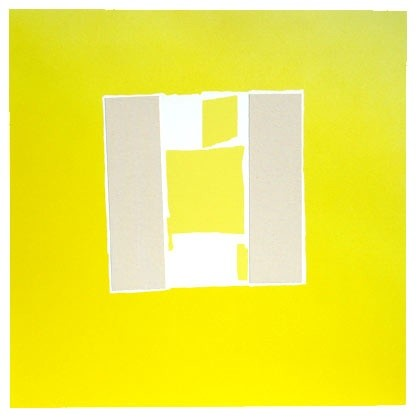 Sandra Blow RA, Canvas on Chrome, 2003