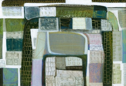 Anne Davies, Fields and Walls, 2016