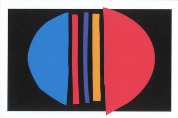 Sir Terry Frost RA, Centre Blue, 2003