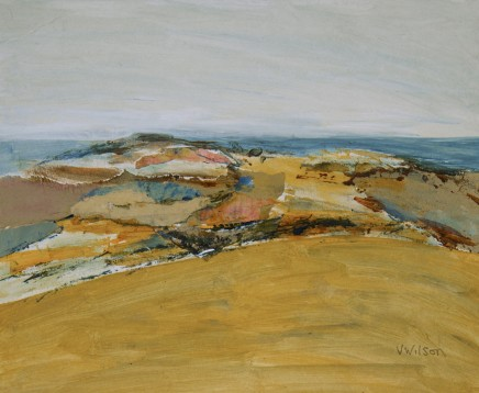 Vincent Wilson, Hillside and Sea, 2014