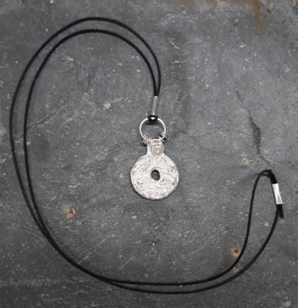 Lucy Coyne , long pendant