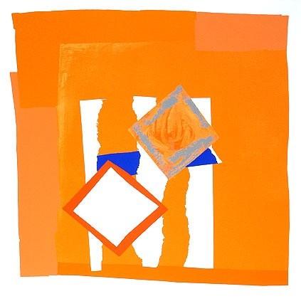 Sandra Blow RA, Orange Field, 2000