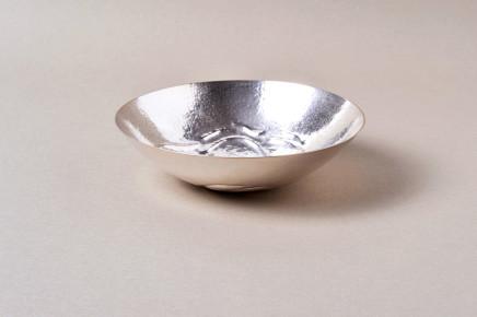 Karen Yvonne Stott, Textured Silver Bowl, 2017
