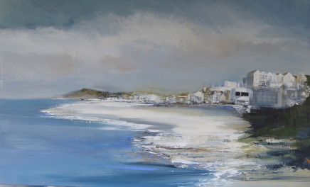 Jenny Hirst, Walking Towards St Ives from Zennor, 2017