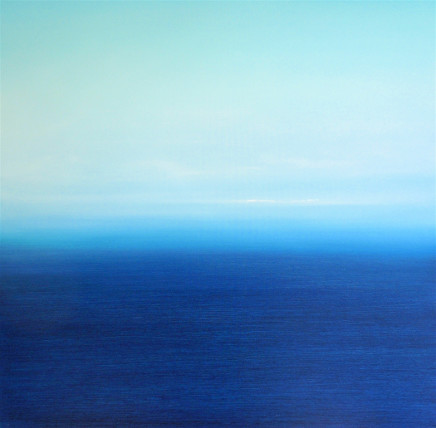 Martyn Perryman, Blue Tranquility, St Ives, 2017