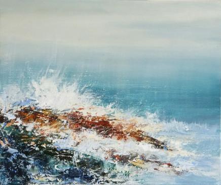Joanne Last, Wind Tossed Waves I, 2017