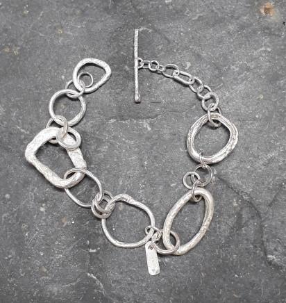 Lucy Coyne , pebbles bracelet