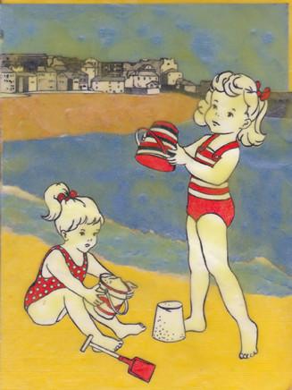 Ann Winder-Boyle, The Sandcastle Contest, 2017