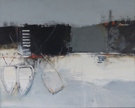 Jenny Hirst, In the Harbour, 2017