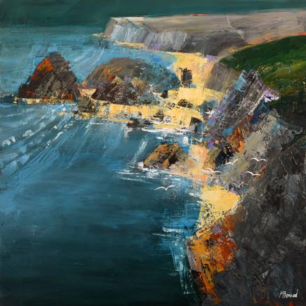 Mike Bernard RI, Kynance Cove, Cornwall, 2017