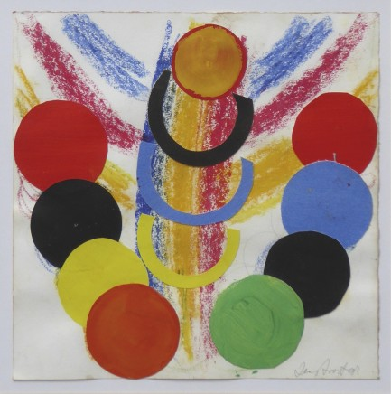 Sir Terry Frost RA, Necklace Around the Sun, 1993