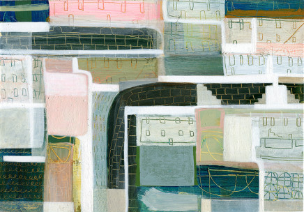 Anne Davies, Harbour Wall, 2017