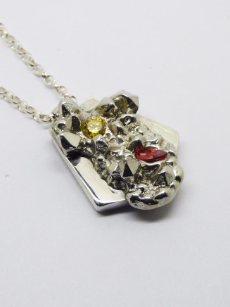 Stacey West, 'Found Treasures' Pendant – large, 2017