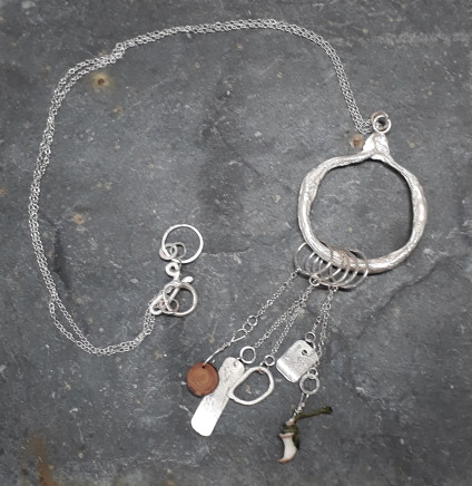 Lucy Coyne , Beach Chatelaine Necklace