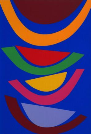 Sir Terry Frost RA, Swing in Blue [Kemp 218], 2001