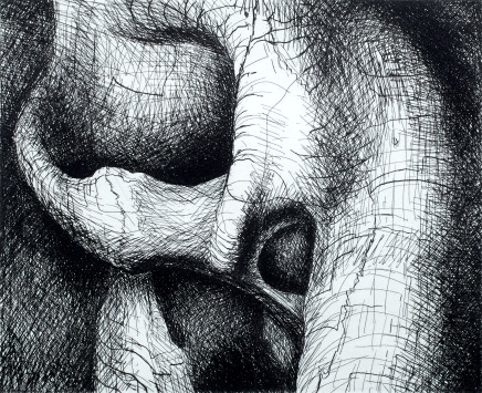 Sir Henry Moore O.M., C.H., Interlocking Forms, 1969/70