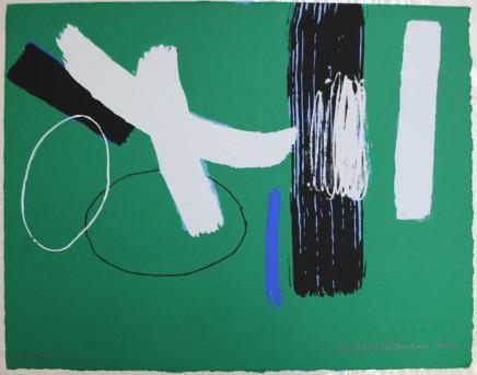 Wilhelmina Barns-Graham, Millennium Series Green, 2000