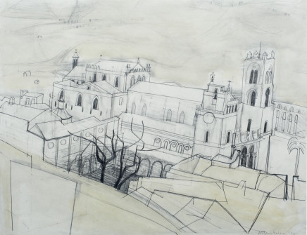 Wilhelmina Barns-Graham, Monreale (Sicily), 1955