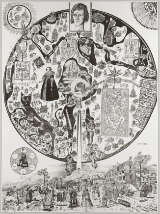 Grayson Perry, Map of Nowhere, 2008