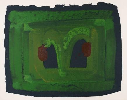 Howard Hodgkin, Lotus, 1980