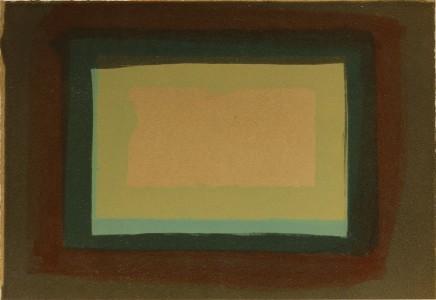 Howard Hodgkin, Window, 1976