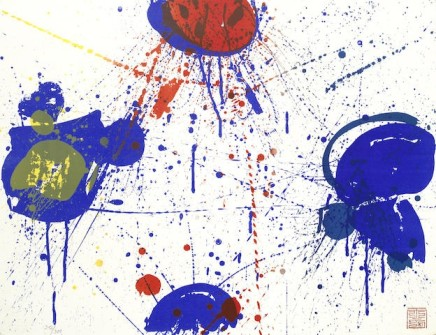 Sam Francis, The Upper Red (Lembark 51), 1963