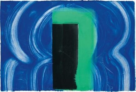 Howard Hodgkin, Moroccan Door, 1990-91
