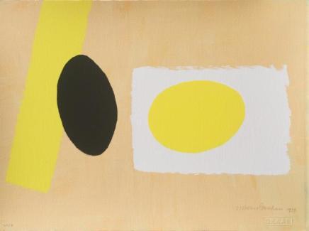 Wilhelmina Barns-Graham, Orange & Lemon Playing Games II, 1999