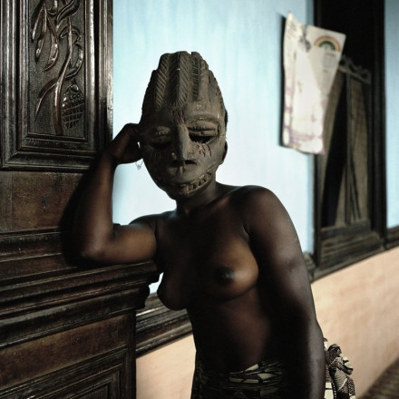 Leonce Raphael Agbodjelou - Untitled (Egungun series), 2011