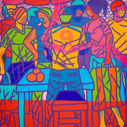 Ajarb Bernard Ategwa - Market Boy, 2018