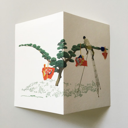 "<p><span class=""artist""><strong>Natsko Seki</strong></span>, <span class=""title""><em>Collage Cards 2</em>, 2019</span></p>"
