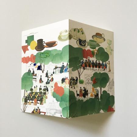 "<p><span class=""artist""><strong>Natsko Seki</strong></span>, <span class=""title""><em>Collage Cards 6</em>, 2019</span></p>"
