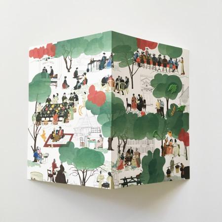 "<p><span class=""artist""><strong>Natsko Seki</strong></span>, <span class=""title""><em>Collage Cards 4</em>, 2019</span></p>"