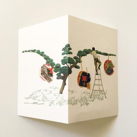 "<p><span class=""artist""><strong>Natsko Seki</strong></span>, <span class=""title""><em>Collage Cards 5</em>, 2019</span></p>"