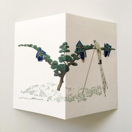 "<p><span class=""artist""><strong>Natsko Seki</strong></span>, <span class=""title""><em>Collage Cards 1</em>, 2019</span></p>"