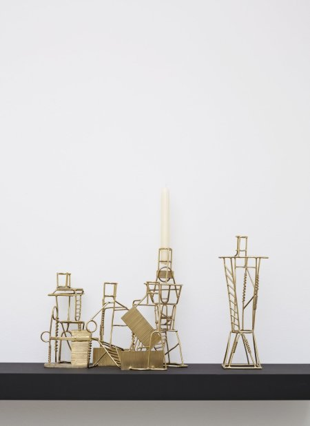 "<span class=""artist""><strong>Fabien Cappello</strong></span>, <span class=""title""><em>Drawn Candlesticks</em>, 2012</span>"