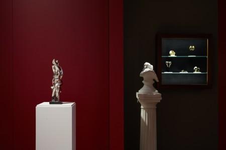 Beauty & Harmony;  Jewellery, Painting and Sculpture by Sophia Vari.  1 October - 8 November, 2019  Louisa Guinness Gallery
