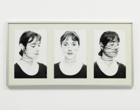 <p><strong>Annegret SOLTAU </strong></p><p>Selbst II, 1-12 (Self II, 1-12), 1975</p><p><span>Vintage gelatin silver prints and thread mounted on paper</span></p><p>&#160;</p>