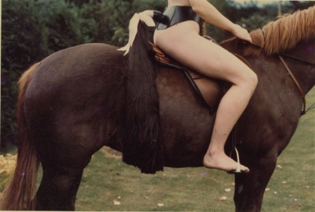 Rose on Horseback with Tail