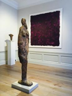 Metamorphosis I, 1980, Standing Female Figure, 1955, 28-1958