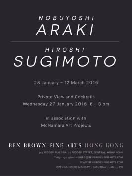 Nobuyoshi Araki / Hiroshi Sugimoto