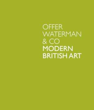Modern British Art 2012