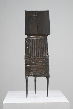 """<span class=""""artist""""><strong>Lynn Chadwick</strong></span>, <span class=""""title""""><em>Watcher IX</em>, 1961</span>"""