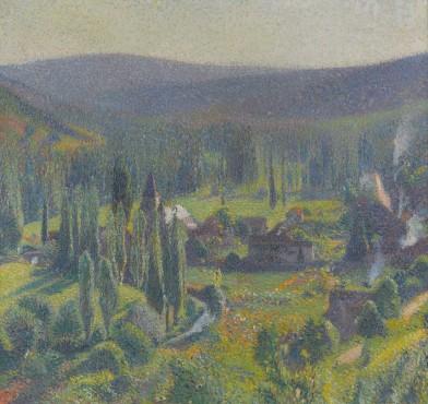 <span class=&#34;artist&#34;><strong>Henri Martin</strong></span>, <span class=&#34;title&#34;><em>La Valle&#233; Vert &#224; Labastide-du-Vert</em>, c. 1920</span>