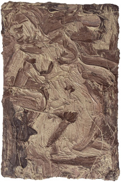 "<span class=""artist""><strong>Leon Kossoff</strong></span>, <span class=""title""><em>Fidelma in a Chair</em>, 1984</span>"