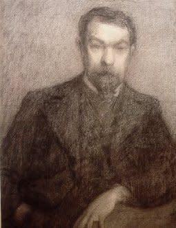 """<span class=""""artist""""><strong>Jules Dejardin</strong></span>, <span class=""""title""""><em>Portrait de Henri Le Sidaner</em>, 1902</span>"""