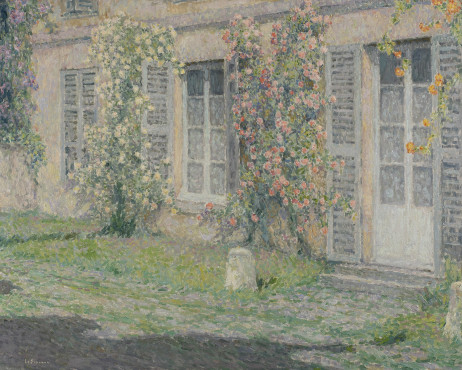 "<span class=""artist""><strong>Henri Le Sidaner</strong></span>, <span class=""title""><em>Les Roses Au Soleil du Matin</em>, 1924</span>"